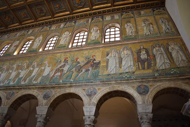 I mosaici rimasti e sopravvissuti