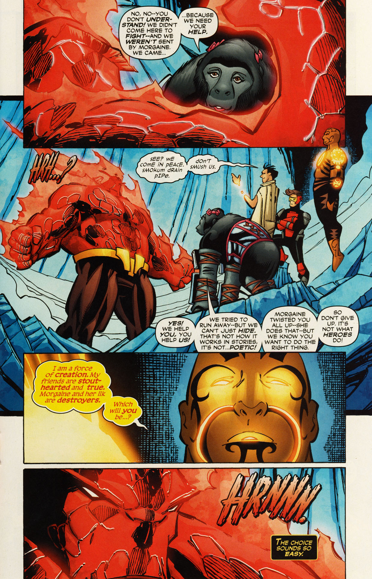 Read online Trinity (2008) comic -  Issue #46 - 22