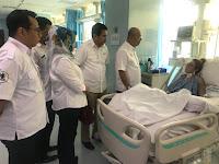 Alami Patah Tulang Rusuk, Wali Kota Jenguk Pegawai Dinas Pariwisata Korban Kecelakaan