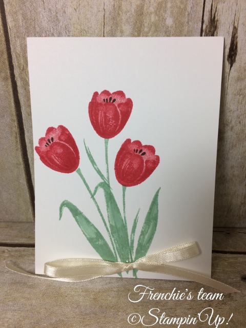 Tranquil Tulips, Stampin'Up!