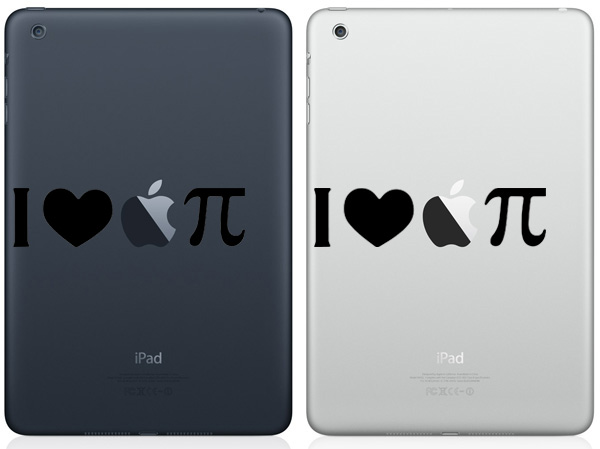 I Love Apple Pie iPad Mini Decals