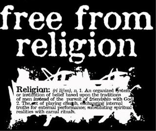 Eliberat de religie - imagine de pe louxfamilyblog.com