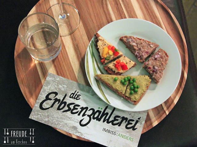 Die Erbsenzählerei der Anders Imbiss vegan - vegetarisch - omni - bio - regional - Freude am Kochen