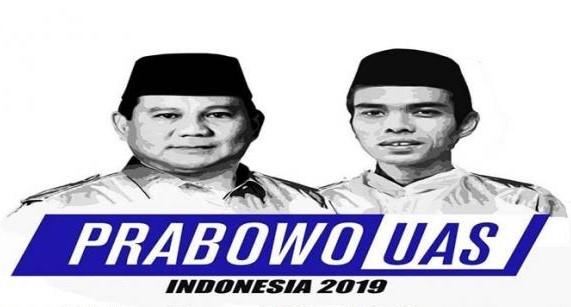 Di Daerah Ini, Paket Prabowo Subianto dan Ustaz Abdul Somad (UAS) Sudah Dideklarasikan