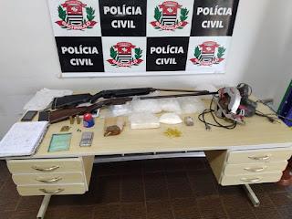 Dise de Registro-SP prende um traficante procurado pela justiça