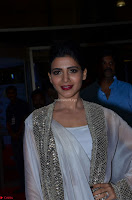 Samantha Ruth Prabhu cute in Lace Border Anarkali Dress with Koti at 64th Jio Filmfare Awards South ~  Exclusive 029.JPG