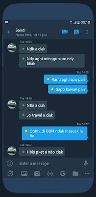 Tema BBM MOD MidNight v3.2.2.8 APK Terbaru