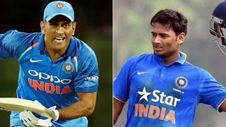 Dhoni and Rishabh in the ODI team, or both? Will decide tomorrow
