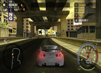 Need For Speed most wanted 2005 screenshots
