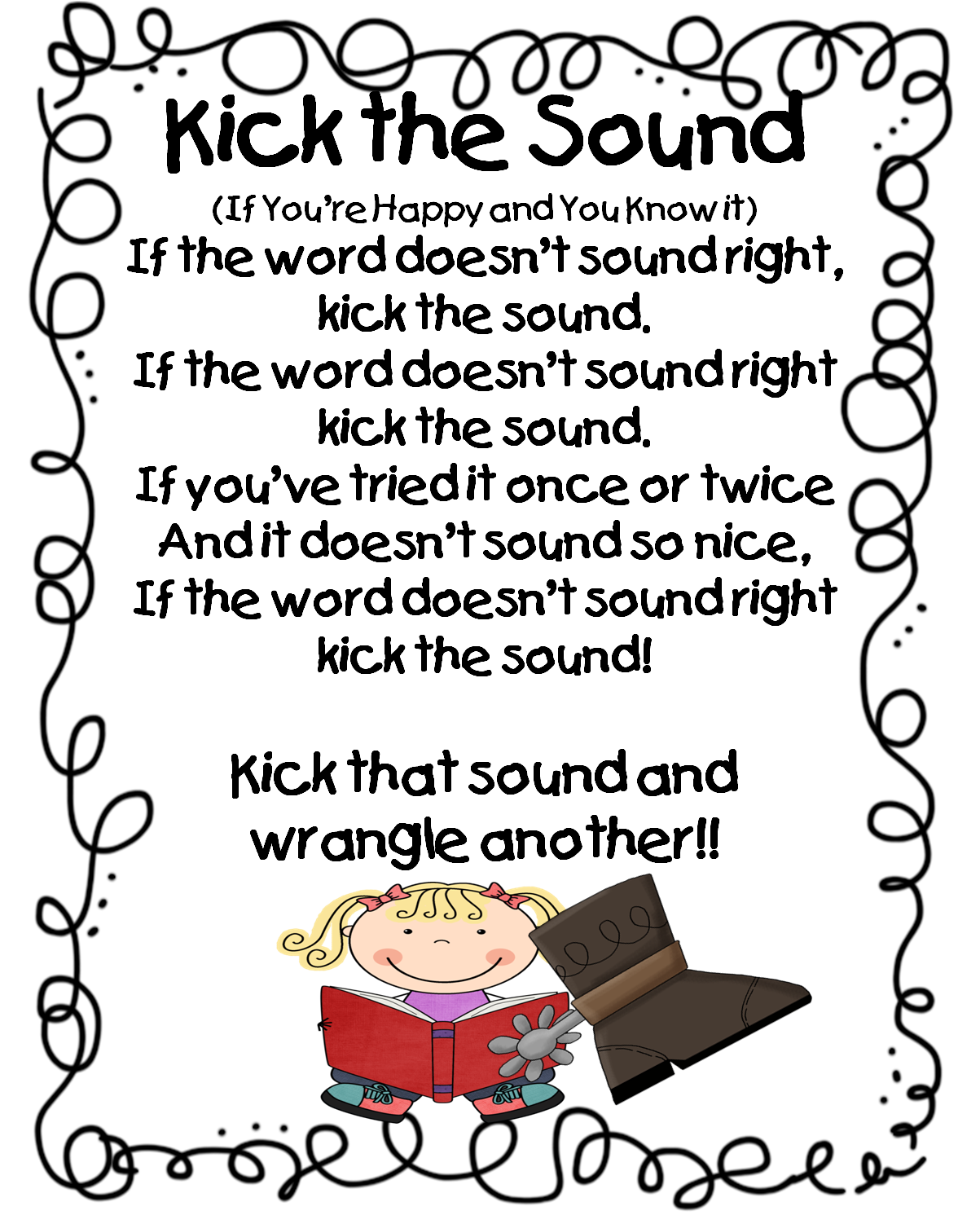 First Grade Wow Flip Or Kick The Sound