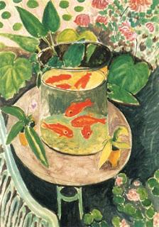Resultado de imagen de ACUARIO CON PECES ROJOS Matisse