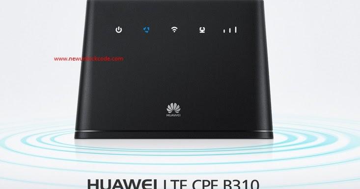 Unlock V4 Algo huawei LTE CPE B310 CAT4 ( B310 4G ) Mobile