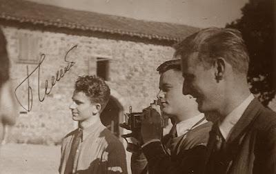 II Campeonato Mundial Universitario de Ajedrez Lyon 1955, Spassky, paseo por Beaujolais antes de las partidas