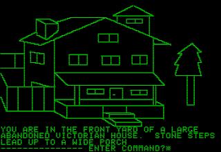 Pantallazo videojuego Mystery House