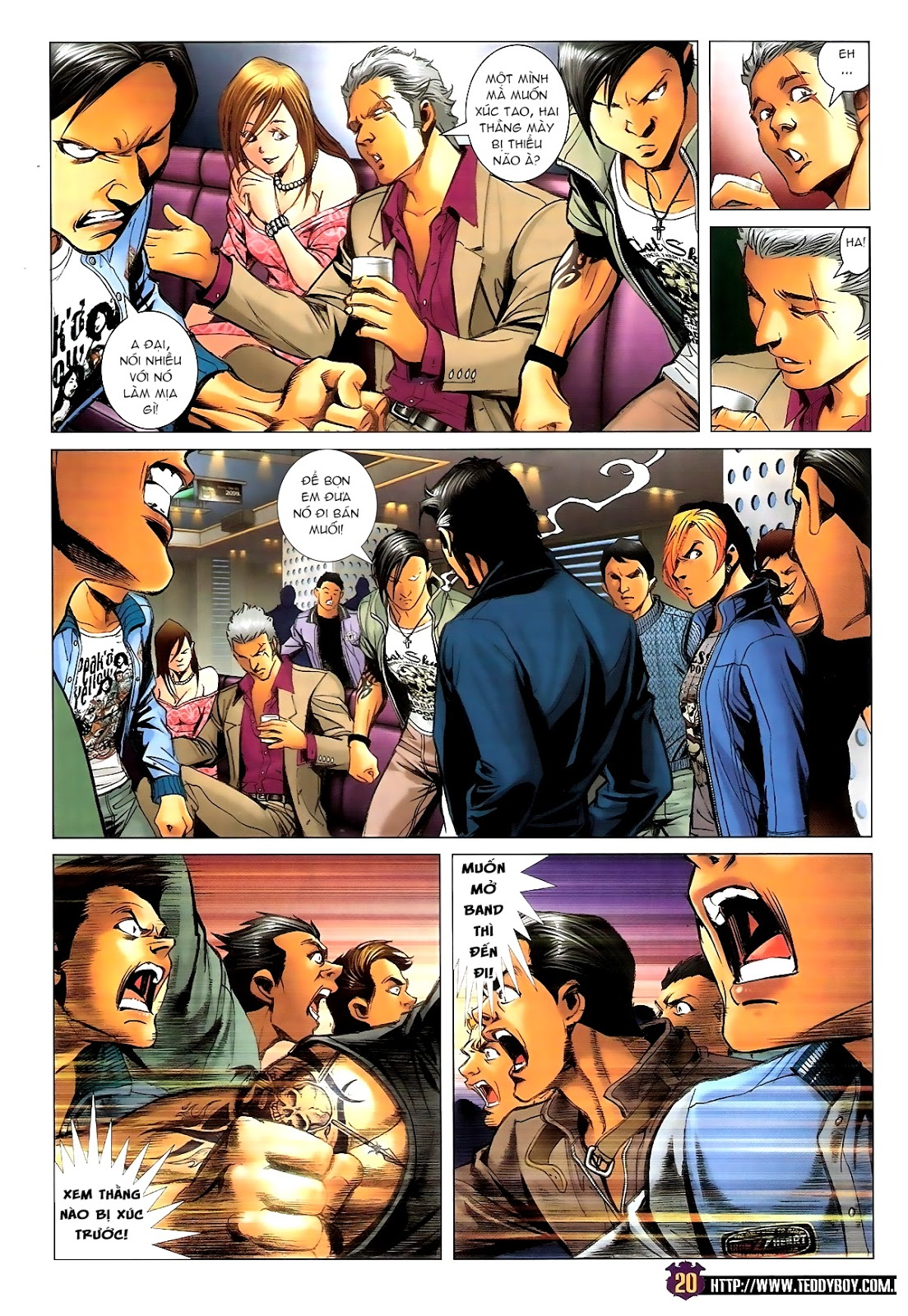 Người Trong Giang Hồ - Chapter 1388: Khí diệm Hoàng giả - Pic 17