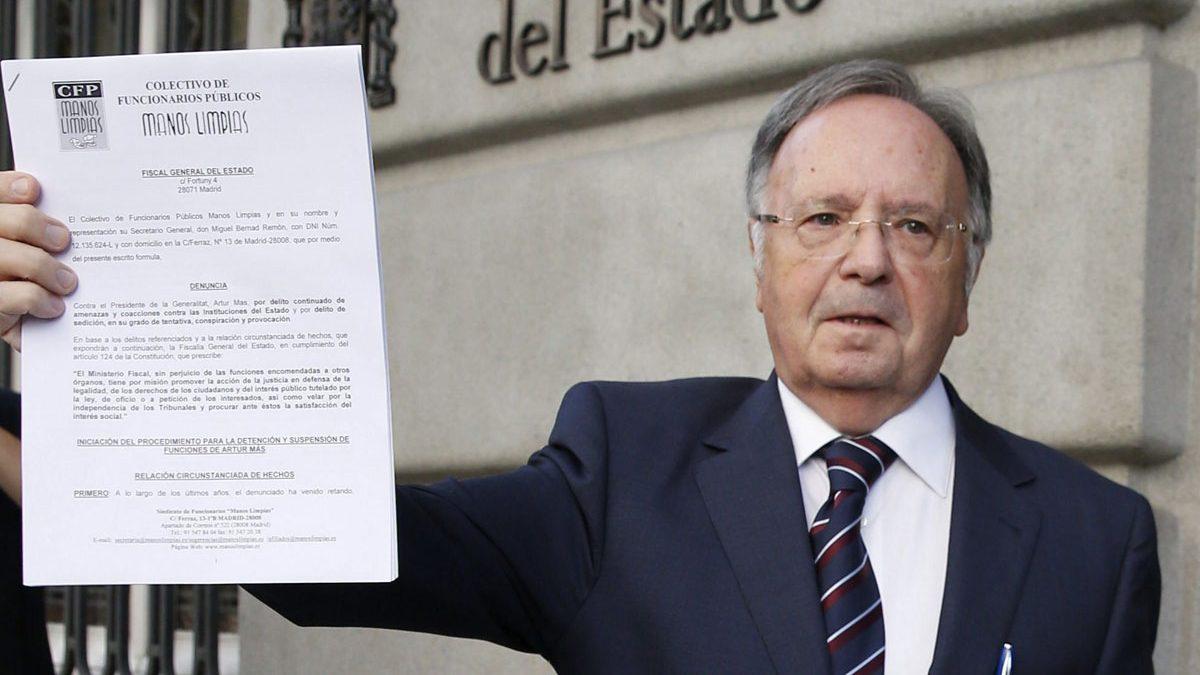"""Entrevista a Miguel Bernard: """"Manos Limpias ya se ha querellado por el 8M"""""""