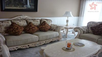 Những mẫu phòng khách đẹp như mơ với phào chỉ nhựa trang trí