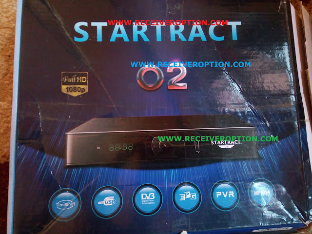 STARTRACT O2 HD RECEIVER BISS KEY OPTION