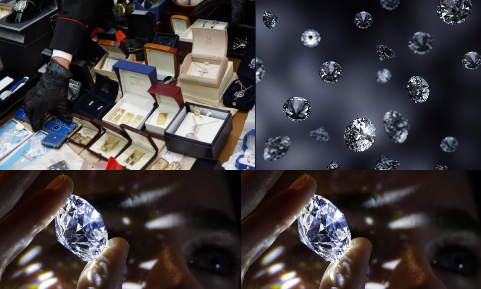 5 Banche coinvolte in truffa sulla Vendita di Diamanti Preziosi.