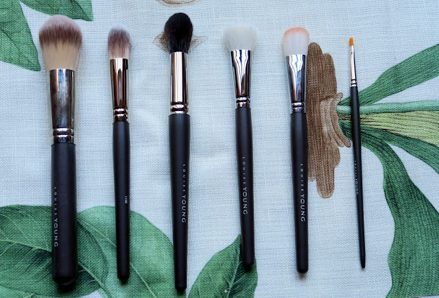 Louise Young Face brushes