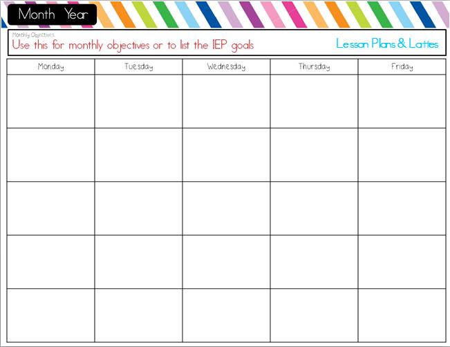 Lesson Plans & Lattes: Lesson Plans Part 1 - Choosing a template(s)