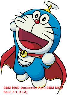 BBM MOD Doraemon Apk