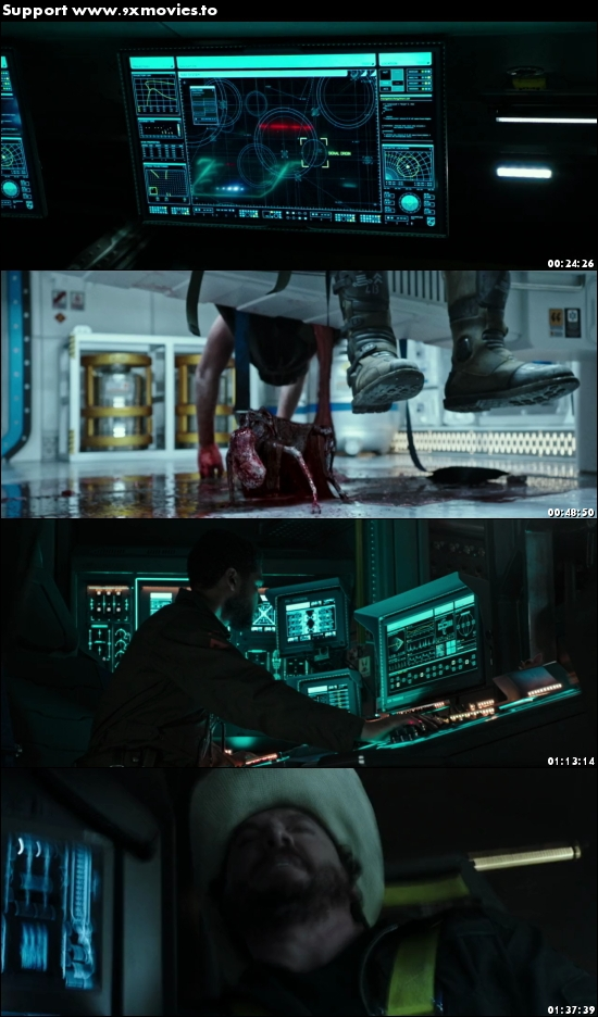 Alien Covenant 2017 Dual Audio ORG Hindi 720p BluRay 999mb
