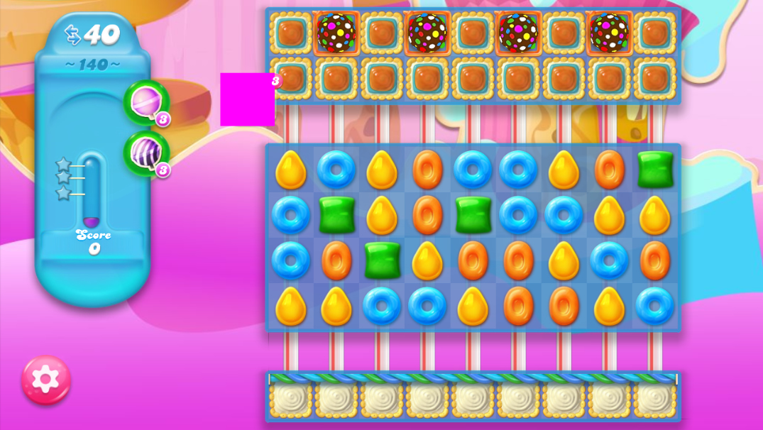 Candy Crush Jelly Saga 140