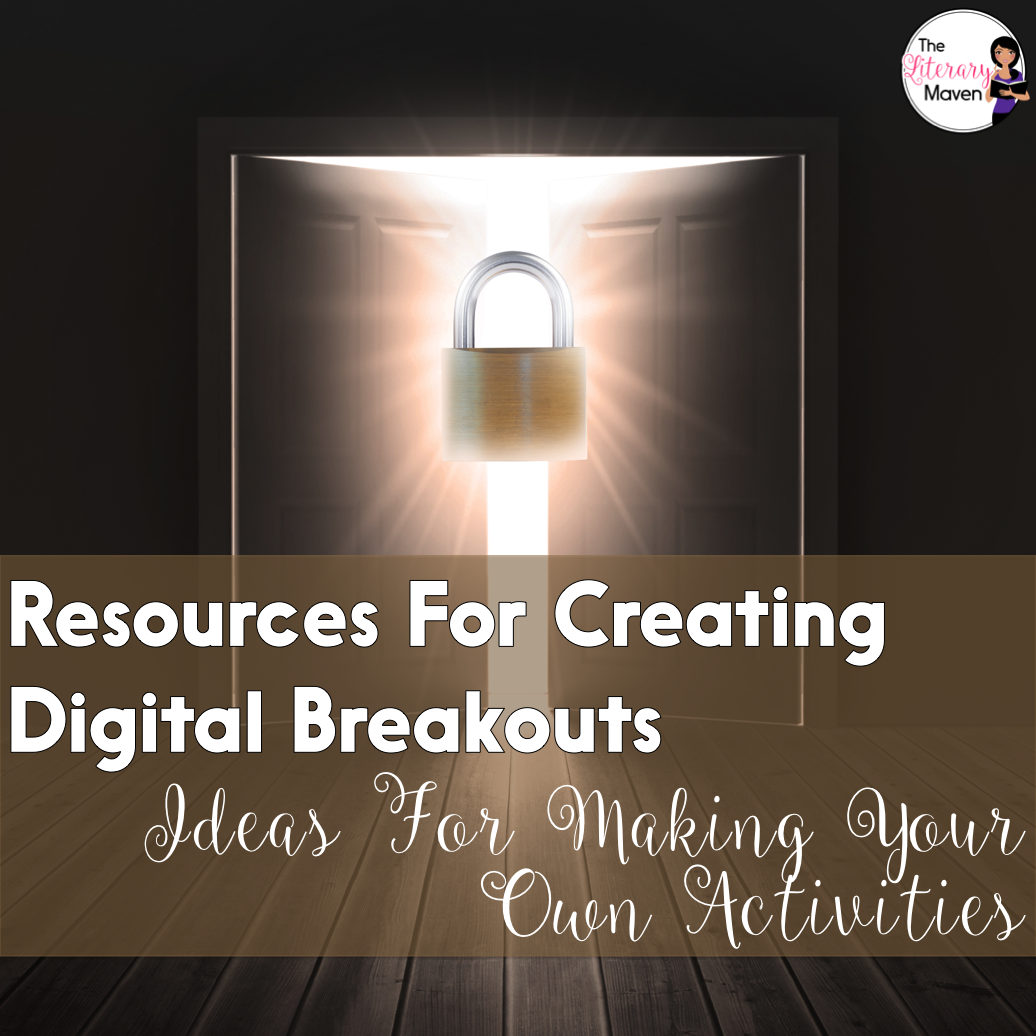 Resources For Creating Digital Breakouts Ideas For Making