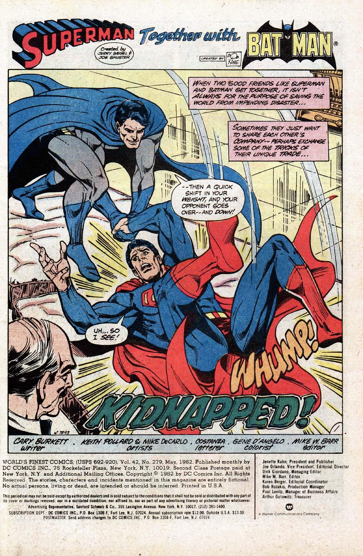 Read online World's Finest Comics comic -  Issue #279 - 3