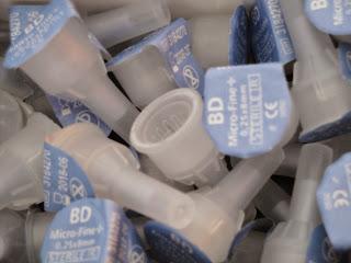 Agulhas para canetas de insulina