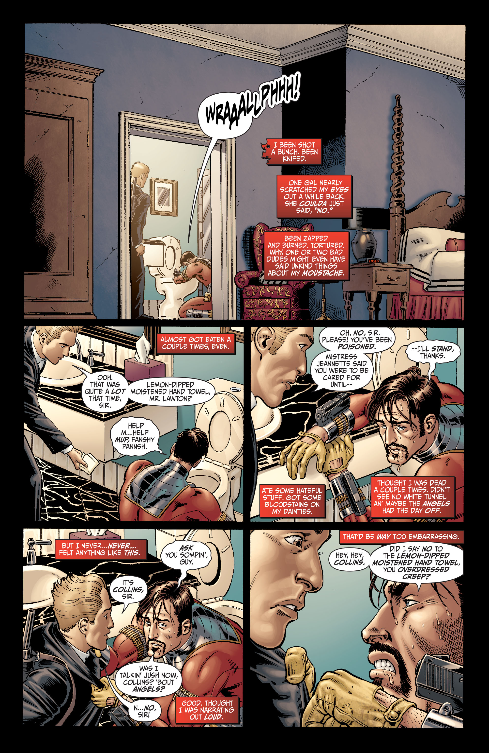 Read online Secret Six (2008) comic -  Issue #5 - 9