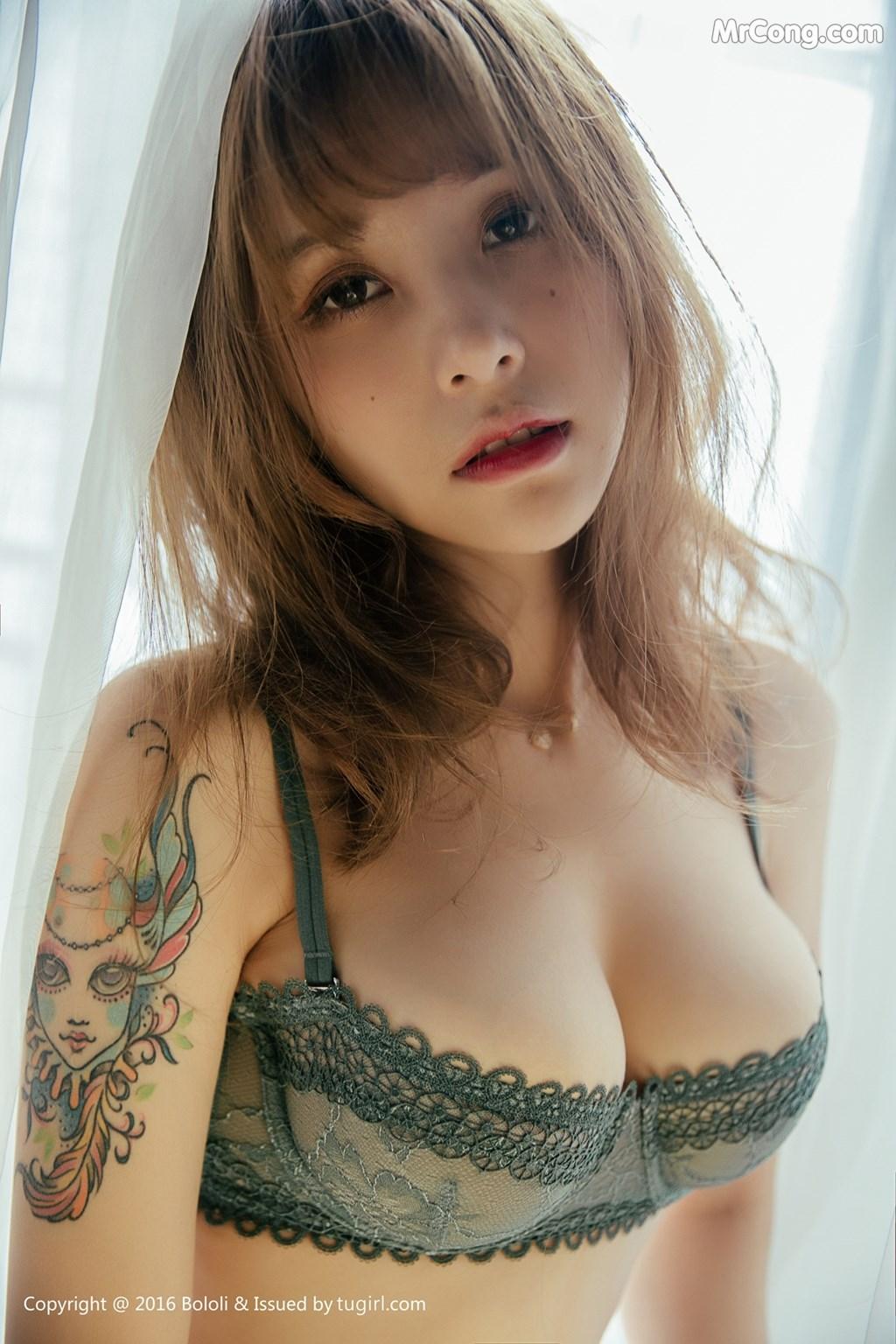 Image BoLoli-2017-09-18-Vol.119-Xia-Mei-Jiang-MrCong.com-001 in post BoLoli 2017-09-18 Vol.119: Người mẫu Xia Mei Jiang (夏美酱) (43 ảnh)