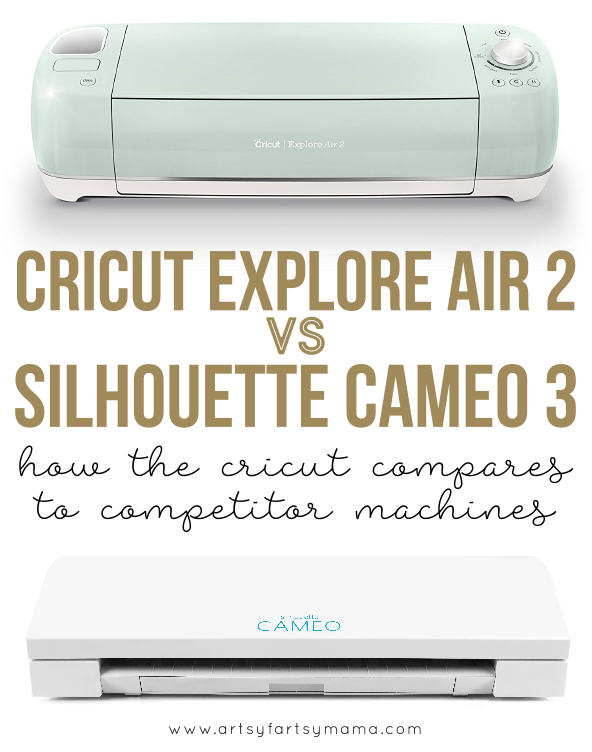 Cricut Explore Air 2 vs. Silhouette Cameo 3: How the Cricut compares to competitor machines