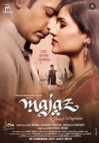 Poster of Majaz Ae Gham-e-Dil Kya Karun (2017) Full Movie Hindi 720p HDRip Download