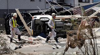 Número de vítimas no Japão sobe para 224 mortos e 17 desaparecidos