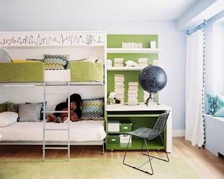cuarto infantil con litera