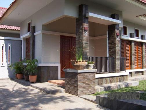 Inilah Contoh Desain Rumah Minimalis Dengan Batu Alam  GROSIR BATU ALAM  Harga Batu Alam Per