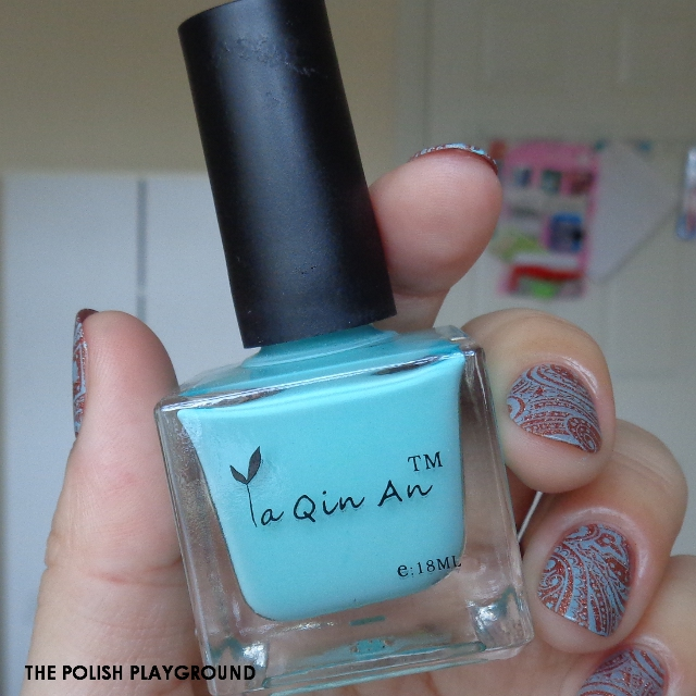 Born Pretty Store - Ya Qin An 25 Stamping Polish Nail Art and Review