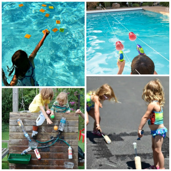 Beat the heat with this collection of water games & activities for kids! #watergamesforkids #watergames #wateractivitiesforkids #summeractivitiesforkids