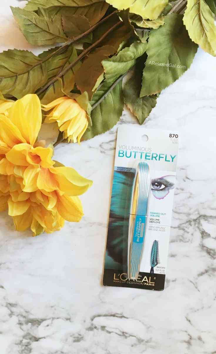 First Impressions: L'Oreal Voluminous Butterfly Mascara | ARelaxedGal.com