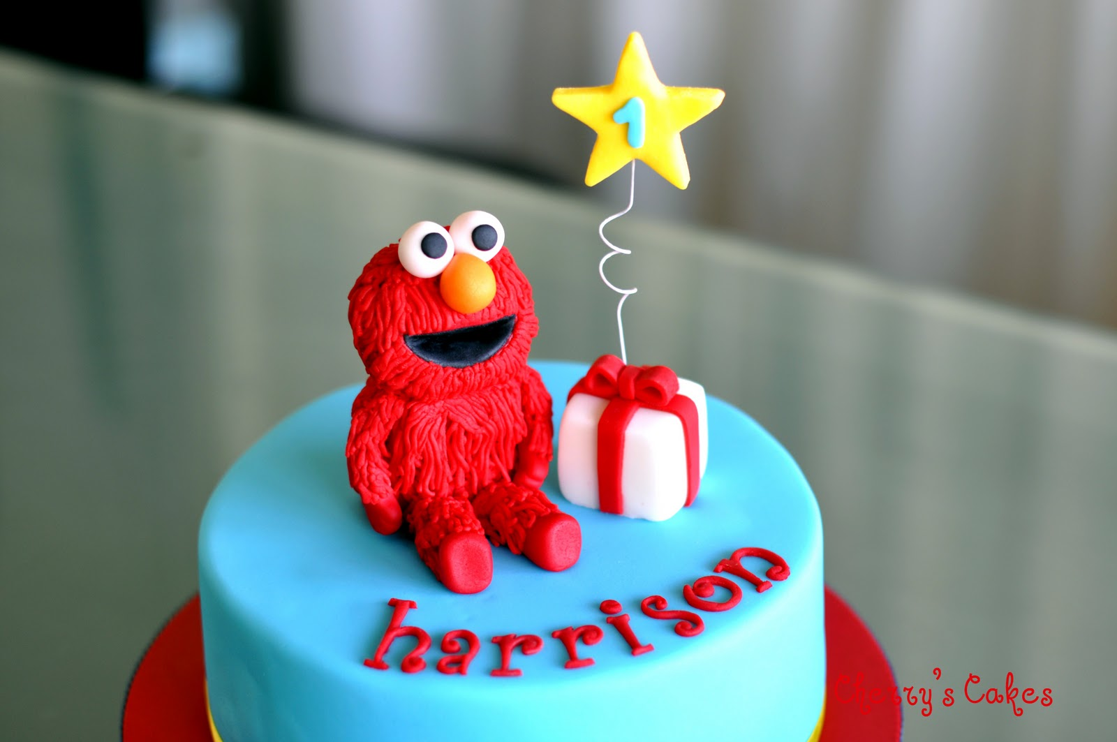 Cherry S Cakes Elmo Cake For Harrison