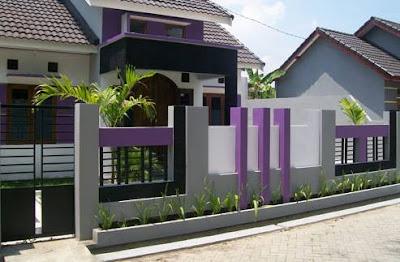 Gambar Pagar Rumah Minimalis Modern Terbaru
