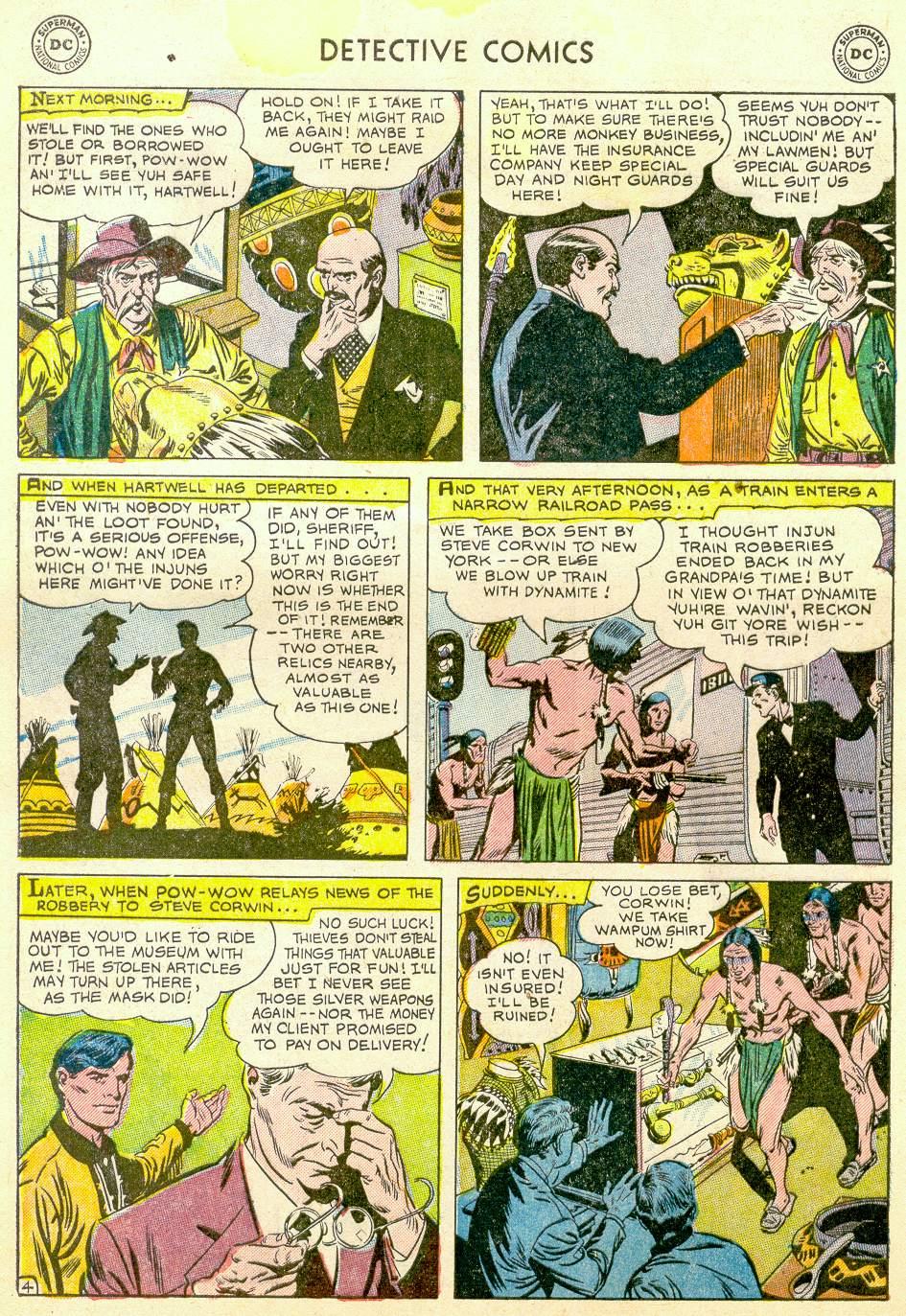 Read online Detective Comics (1937) comic -  Issue #184 - 38