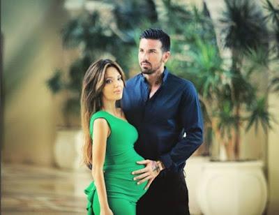 Съпругата на футболиста Есмер роди момченце в Москва. То ще носи името Елай