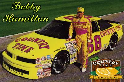 Bobby Hamilton #68 Country Time Lemonade Cars Racing Champions 1/64 NASCAR diecast blog