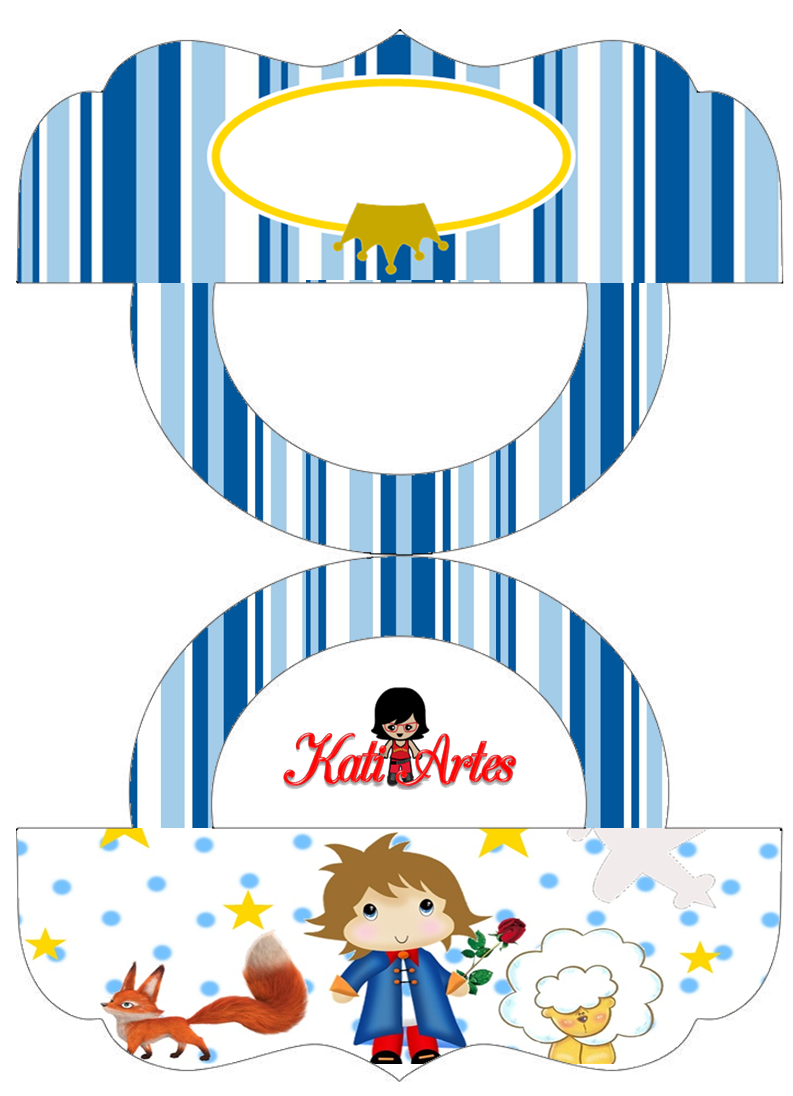 The Little Prince: Free Printable Candy Bag Label 2.