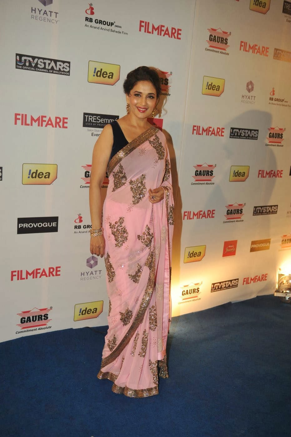 Madhuri Dixit at 59th Filmfare Pre Awards Party