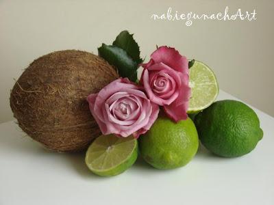 Do czego można użyć kokos, limonki, pistacje... róże?