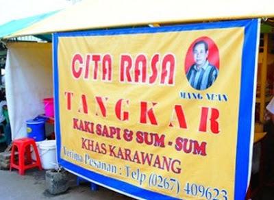 Tempat Kuliner Enak Soto Tangkar Mang Nean di Karawang